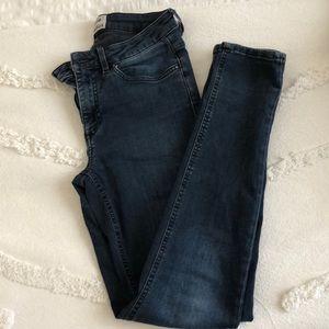 ACNE Dark denim skinny jeans